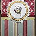 Bee Flowery: Stampendous
