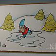 Skating Gnome
