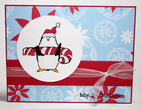 Christmas Penguins: Art Impressions