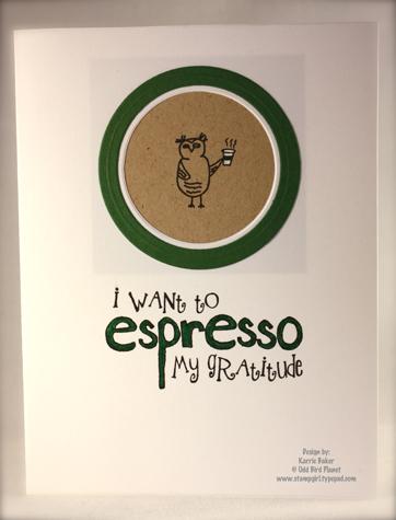 Espresso My Gratitude