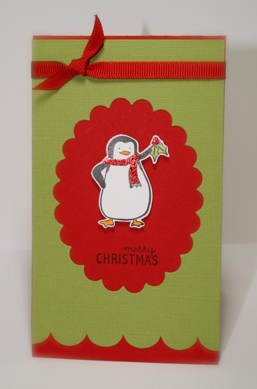 Mistletoe Penguin