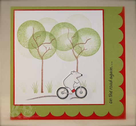 Bicycle Bear